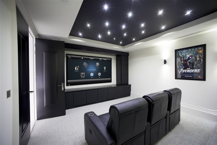 Smart-Home Kino Heimkino