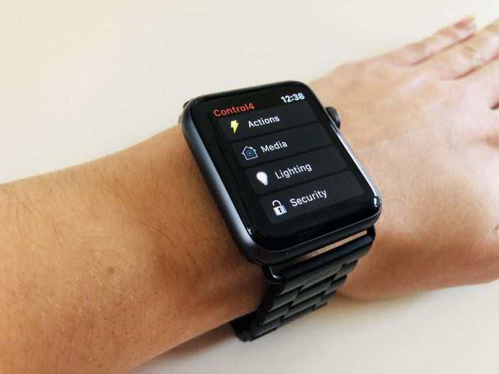 Apple Watch Smart Home